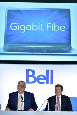Cope of Bell Canada and Mayor Tory