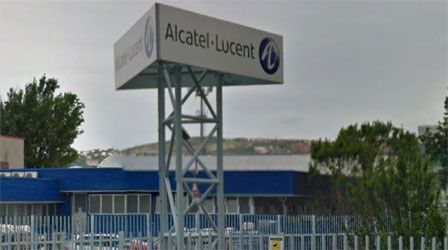 Alcatel-Lucent optical transport factory in Trieste, Italy