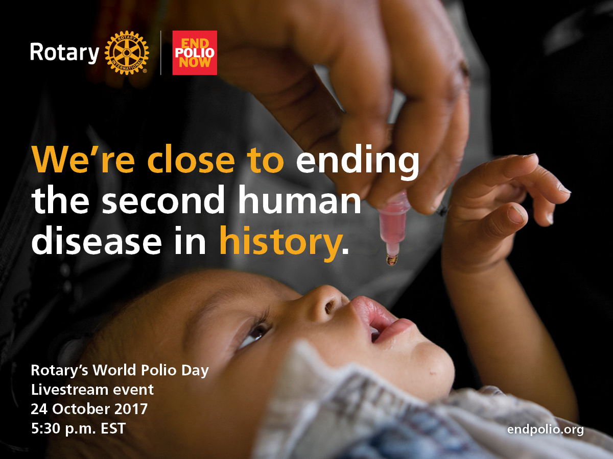 Rotary World Polio Day