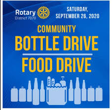 Richmond Hill Rotary Bottle and Food Drive
